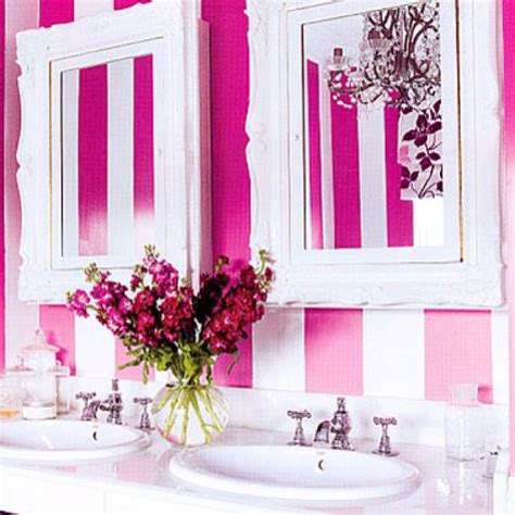 pink and white bathroom pink and white bathrooms