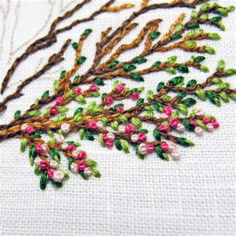 logo embroidery tutorial how to make a french knot free tutorial helpful tips