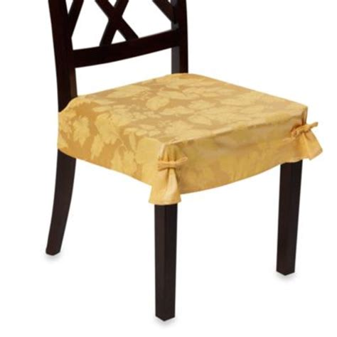 dining room seat covers buy dining chair seat covers from bed bath beyond