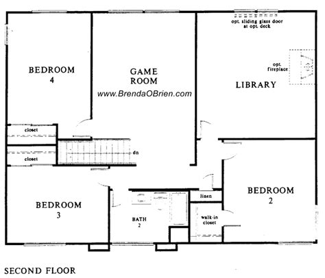 upstairs floor plans villages of la canada floor plan kb 3094 upstairs