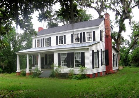alabama house plans purifoy lipscomb house at furman al built ca 1840