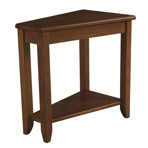 chairside table by drive hammary chairsides oak chairside table boulevard home