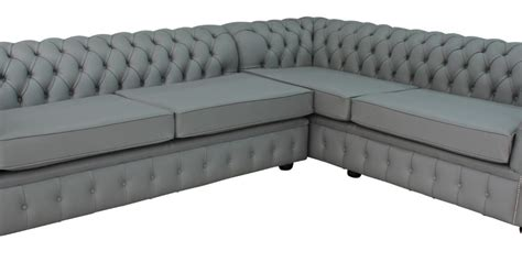 square chesterfield sofa chesterfield balmoral square corner sofa unit cushioned 3