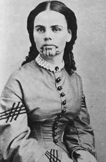female tattoo history olive oatman on tumblr