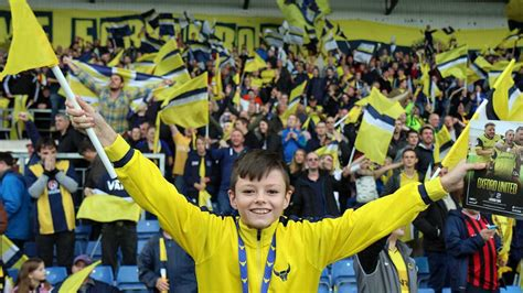 Set Army Yellow yellow army get set for mk news oxford united