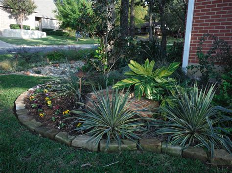 texas landscaping ideas fort worth tx  water
