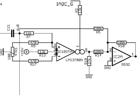 resistor ladder filter www haraldswerk de voltage controlled current source