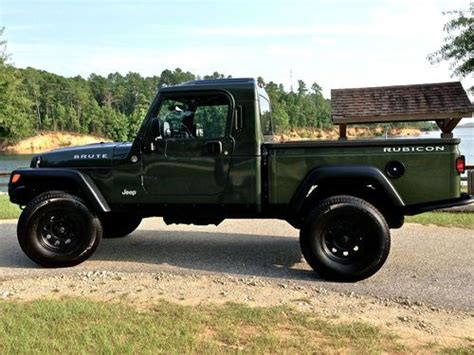 jeep truck conversion sell used 2006 jeep wrangler tj rubicon aev brute pick