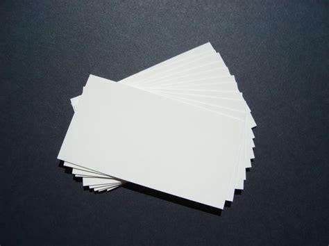 Plain Business Cards