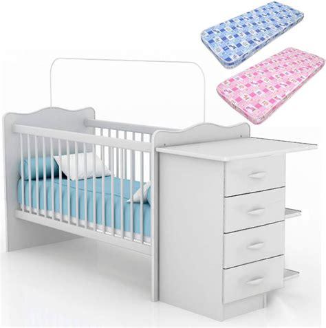 cambiador de cuna para bebe cuna para beb 233 con cambiador cajonera colch 243 n 2