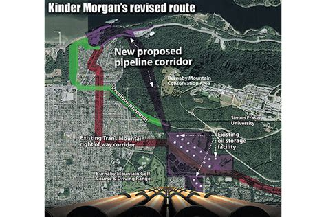 kinder burnaby terminal routing change puts kinder pipeline burnaby