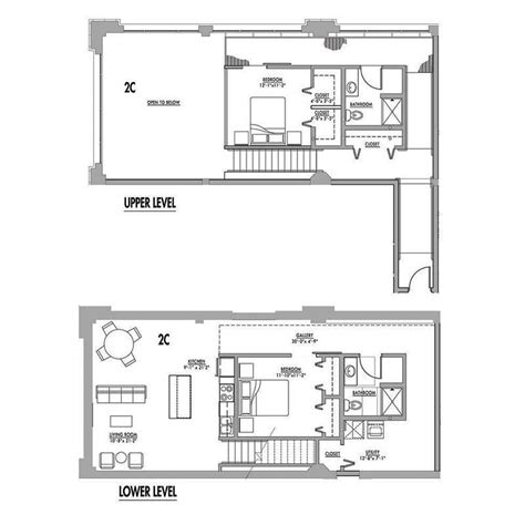factory lofts floor plans floor plan 2c junior house lofts