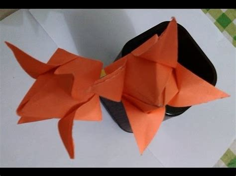 Lotus With Paper - paper crafts paper lotus papercraft flower