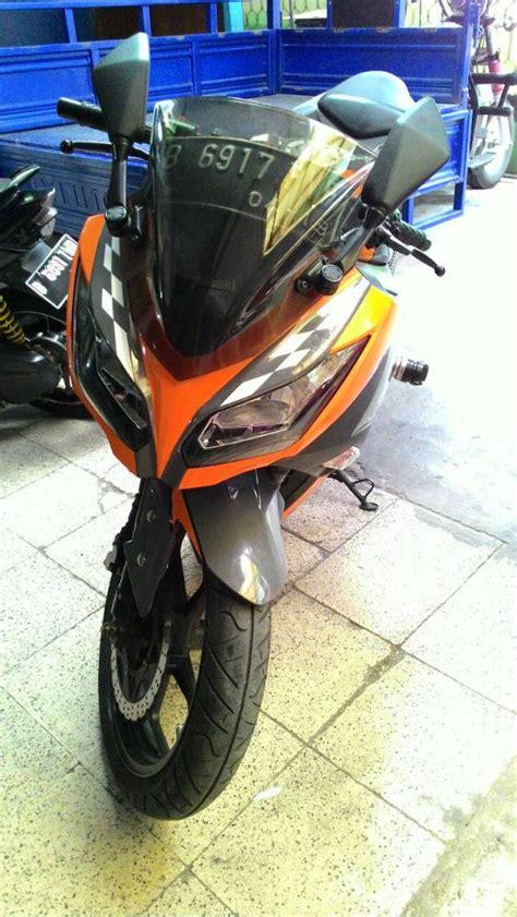 Di Jual Kawasaki di jual kawasaki 250 l cuting sticker abu orange