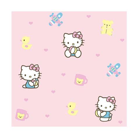 wallpaper hello kitty untuk di kamar jual new sanrio world motif hello kitty kt102 wallpaper