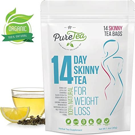 Detox For Bloating And Weight Loss by Puretea Tea Gentle Diet Detox Tea Teatox And