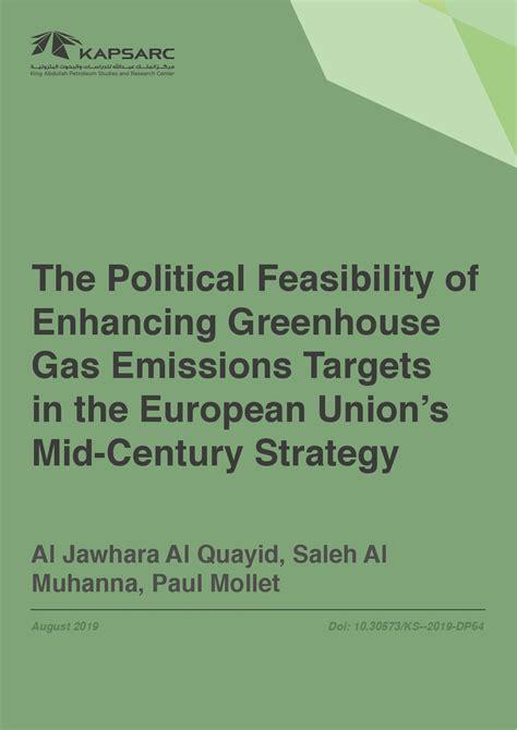 political feasibility  enhancing greenhouse gas