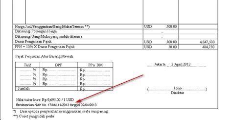 pembuatan faktur pajak dengan uang muka contoh faktur pajak dengan uang muka contoh ik