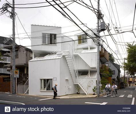 tokyo appartment tokyo apartment japan sou fujimoto architects overall view