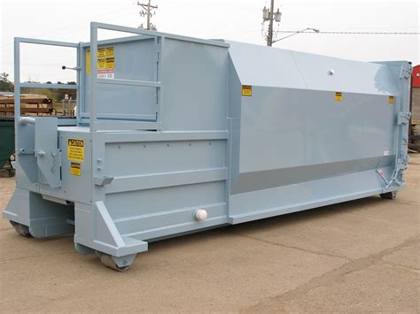 garbage compactor wet waste compactors for commercial industrial use nedland