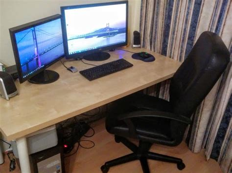 Monitor Komputer Gaming dual monitor gaming pc for sale for sale in grand canal dock dublin from aronman