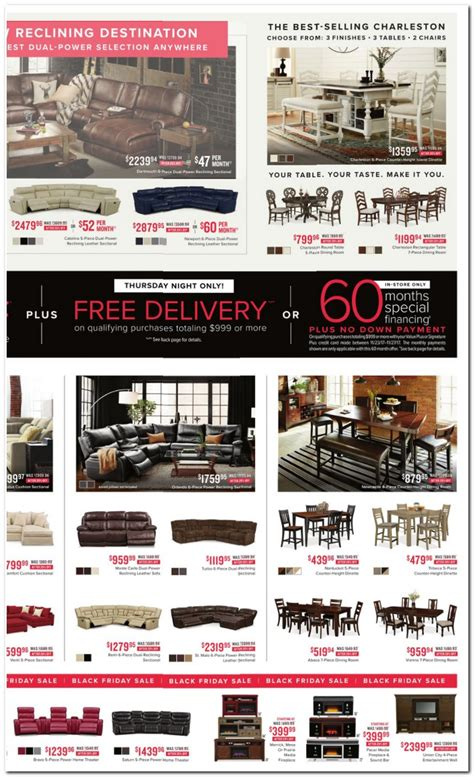 Value City Furniture Coupons by Value City Furniture Black Friday Ads Sales Deals 2017