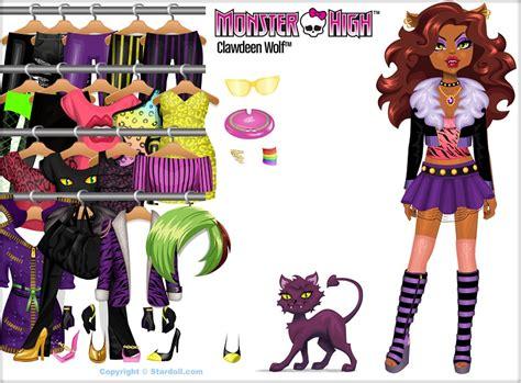 monster high doll design games image stardoll basic clawdeen jpg monster high wiki