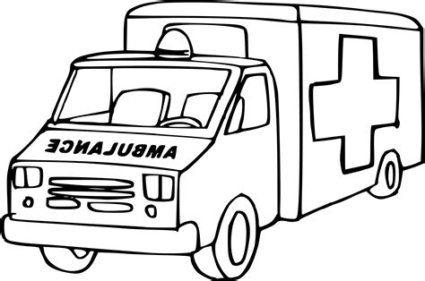 lego ambulance coloring pages ambulance coloring pages