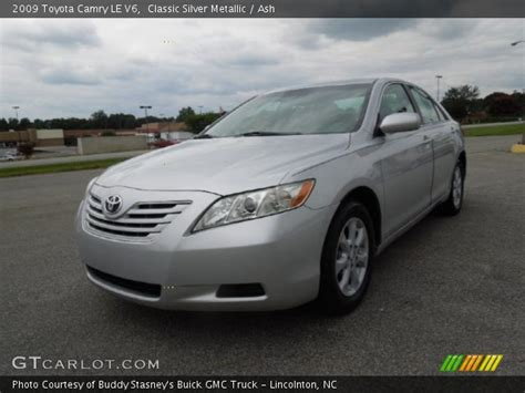 2009 Toyota Camry Le V6 Classic Silver Metallic 2009 Toyota Camry Le V6 Ash