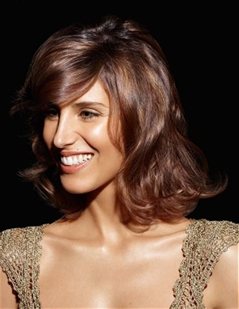 hairstyles for a big nose winter 2011 medium length hairstyles
