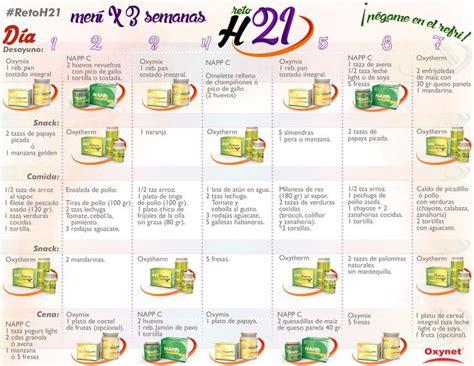 Dieta Detox 21 Dias Cardapio by Menu Reto H21 Aqu 237 La Dieta De Siete D 237 As Por 3 Semanas