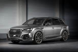 Audi Abt New Audi Sq7 Gets The Works From Abt With 520 Horses
