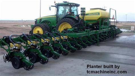 Electric Planter by Deere 7200 Graham Planter