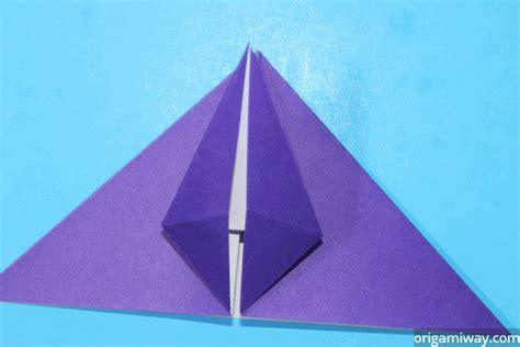 Origami Petal Fold - origami petal fold