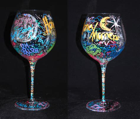 awesome wine glasses awesome wine glass painting wine glasses pinterest