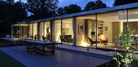 Glass Front House by Architects North London Archplan Architects