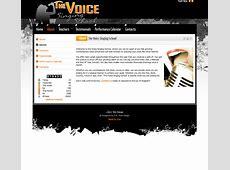 The Voice Singing School (2011 Design) - D.P. Web Design Reputable Site