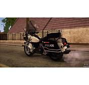 GTA 5 Police Bike For San Andreas