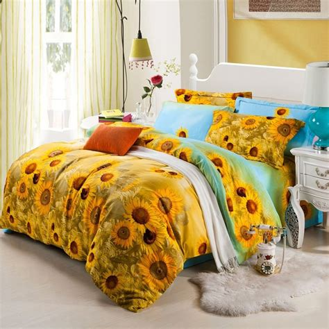 sunflower bedding comforter sets 1000 images about sunflower bedroom on cotton