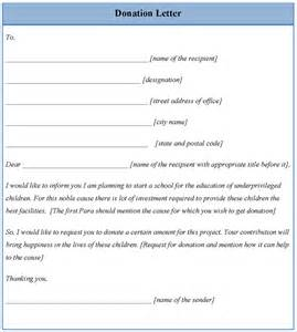 Donations Template by Letter Template For Donation Exle Of Donation Letter