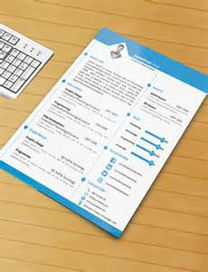 resume template with ms word file free by
