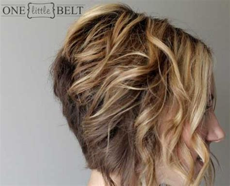 hairstyles wavy bob long in front 20 beautiful short curly hairstyles short hairstyles