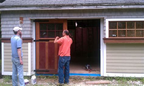 carriage house comeback fine homebuilding justin fink and chuck bickford thinking about a door