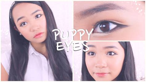 tutorial eyeliner puppy eye quot puppy eyes quot makeup tutorial 강아지눈 메이크업 youtube