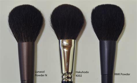 lunasol brushes cheek n and powder n sweet makeup