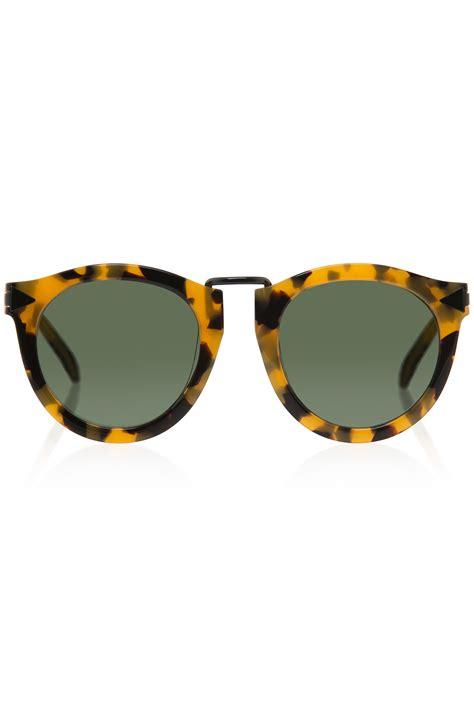 Sunglasses Walker Walker Harvest Sunglasses In Green Lyst