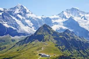 Jungfraujoch top of europe departing from zurich