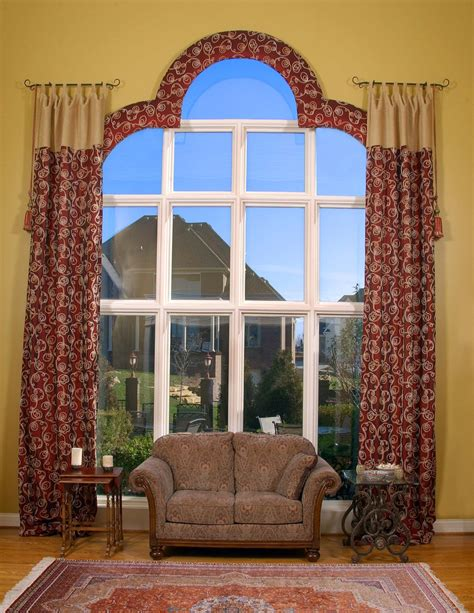 arch window curtains arch window curtain rods simple full size of window