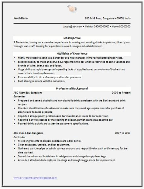 professional curriculum vitae resume template sle template of excellent resume format of