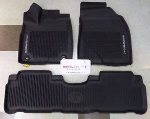 toyota highlander 2014 2017 all weather floor liners
